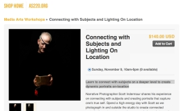 Connecting with Subjects & Lighting On Location –11/09/14